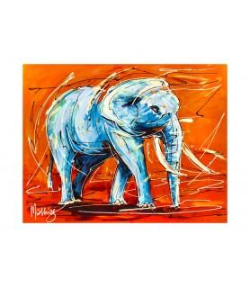 Giclee - Animals Elephant...