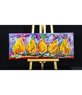 Still life Modern Art Pears