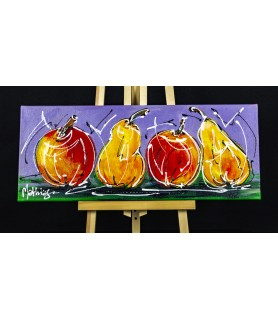 Still life Modern Art Pears...