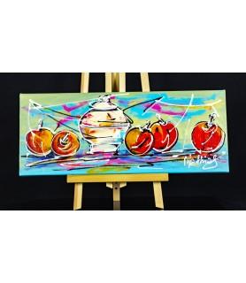 Still life Modern Art Apples