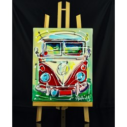 Red VW bus